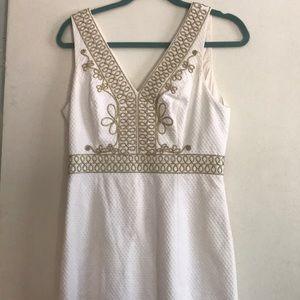 Lilly Pulitzer white Aveline dress